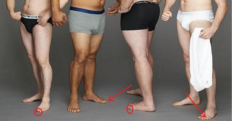 Узнай о характере мужчины по его… Вот оно, истинное зеркало его души — пальцы ног!