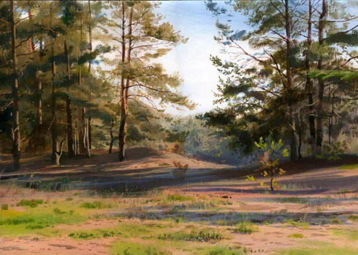 художник Григорий Лозинский картины - 03