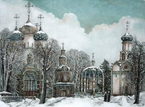 художник Александр Ветров картины – 04