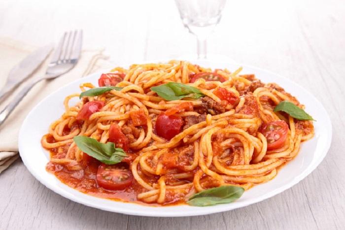 Обалденные спагетти!
