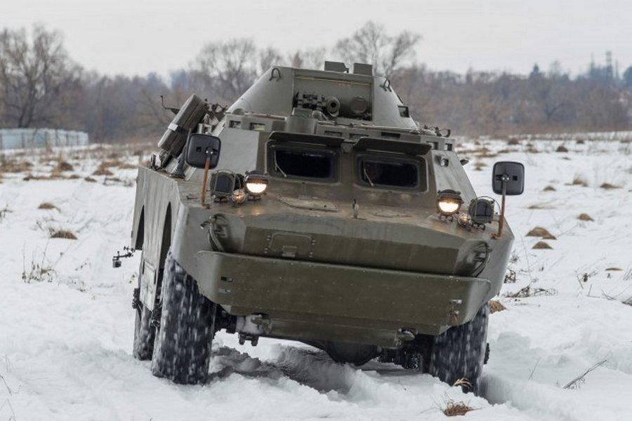 БРДМ-2 с консервации