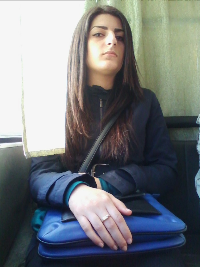 Незнакомка в Автобусе
