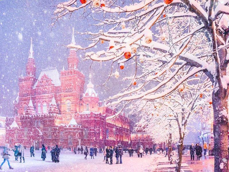 6. достопримечательность, зима, кристина макеева, москва, сказка, снег, фотография, фотомир