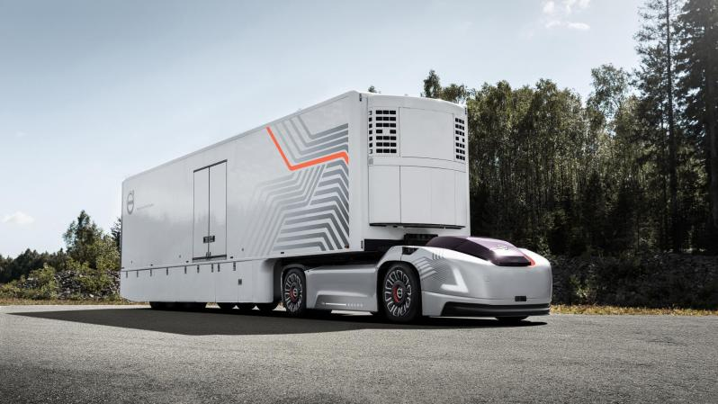Volvo говорит, что грузовикам будущего не нужна кабина
