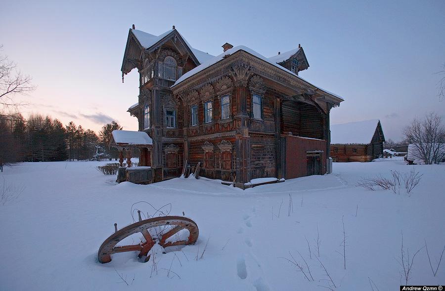 Два удивительных затерянных дома в Чухломе...