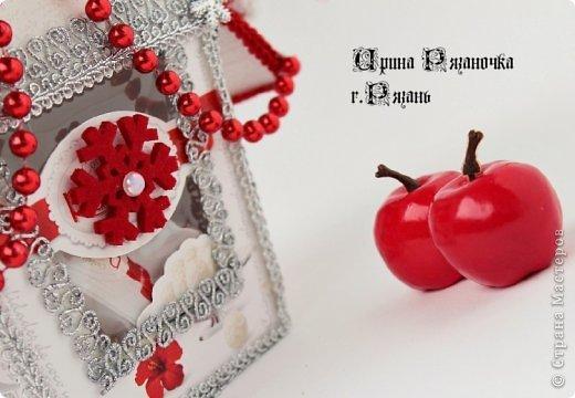 Мастер-класс Свит-дизайн Новый год Бумагопластика Моделирование конструирование Рафаэлкин Домик и Птичий цветок фото 11