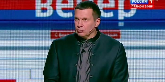 """Соловьев в эфире ТВ назвал бывших соратников Януковича """"мерзкими предателями"""""""