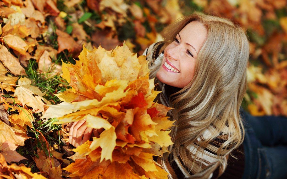 Осень и девушки
