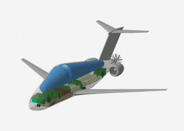Ученые России приступили к работе по созданию транспортного самолета на криогенном топливе