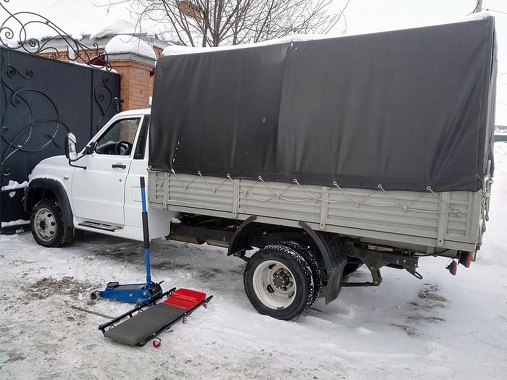 УАЗ выпустит конкурента «Газели»: появились фото прототипа