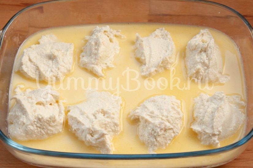 Сырники, запеченные в молочном соусе - шаг 3