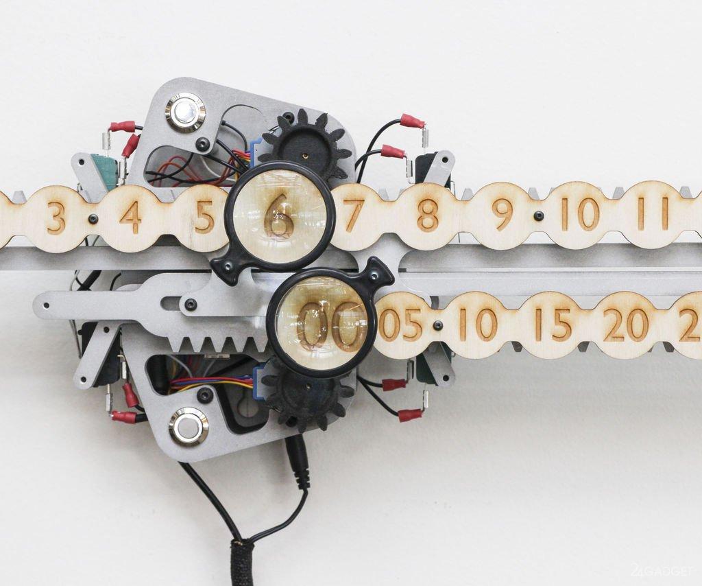 «Линейные» часы можно сделать самостоятельно