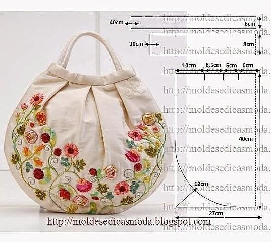 Схемы и Выкройки сумок
