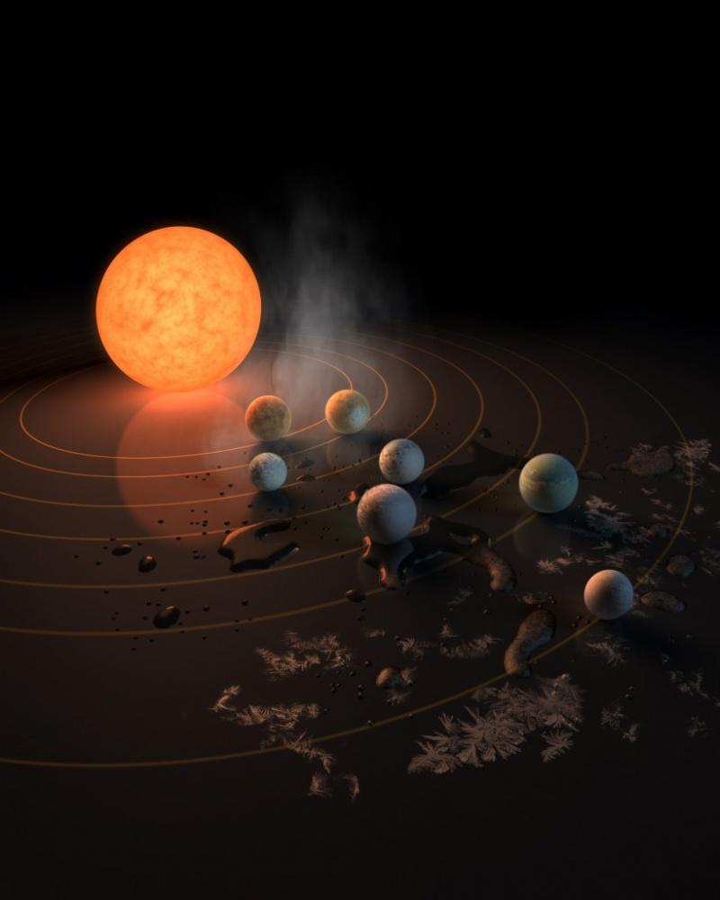 Найден близнец Солнечной системы