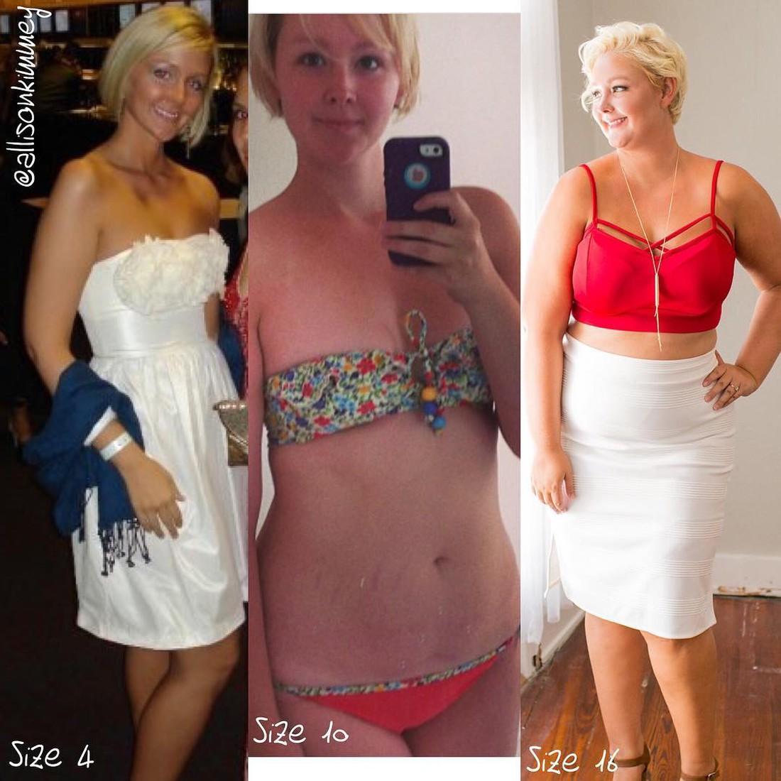 Женщина, которую лишний вес сделал счастливой