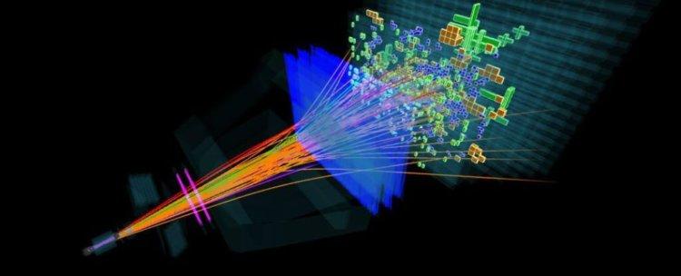 Адронный коллайдер и субатомные частицы