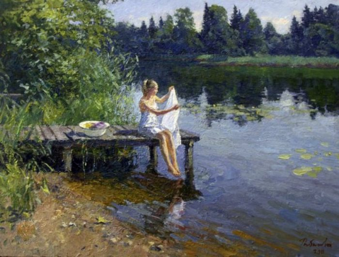 художник Ирина Рыбакова картины – 28