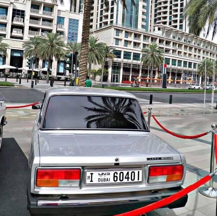 Неожиданно в Дубае был обнаружен российский спорткар