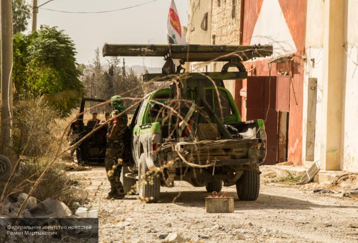 СМИ: боевики прорвали оборону сил Асада, расчистив путь к аэродрому Хамы