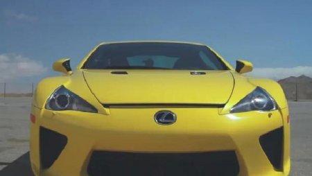 Звезда фильма «Форсаж 4» Пол Уокер прокатился на Lexus LFA по трассе