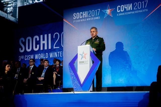 Президент CISM назвал Всемирные военные игры в Сочи лучшими в истории