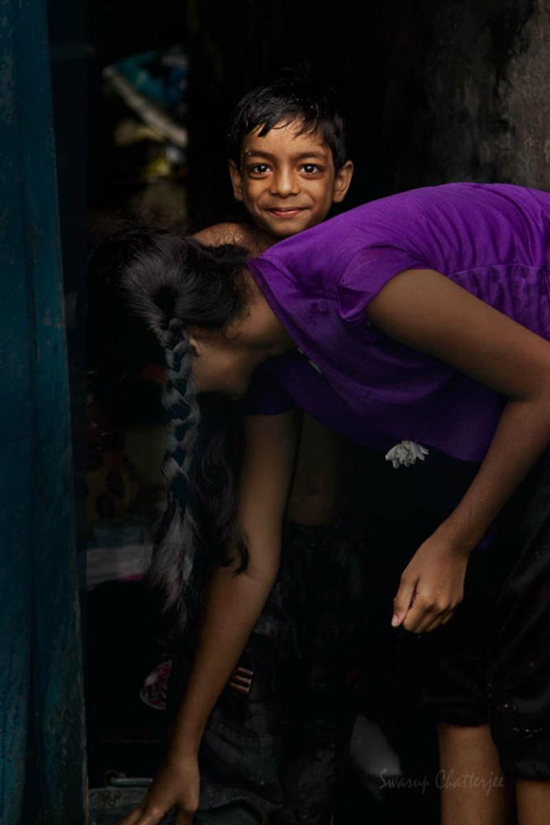 Мальчик в солнечном свете - Колката, Индия индия, красота, талант, творчество, фото, фотограф, фотография, художник