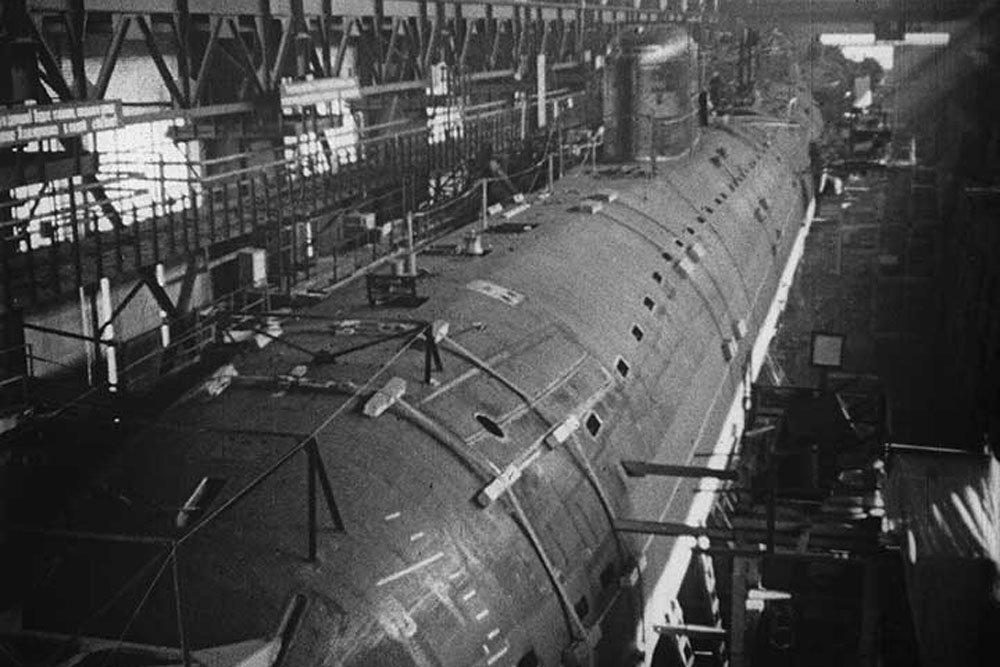 Неизвестные факты о создании первой АПЛ представили на сайте Севмаша