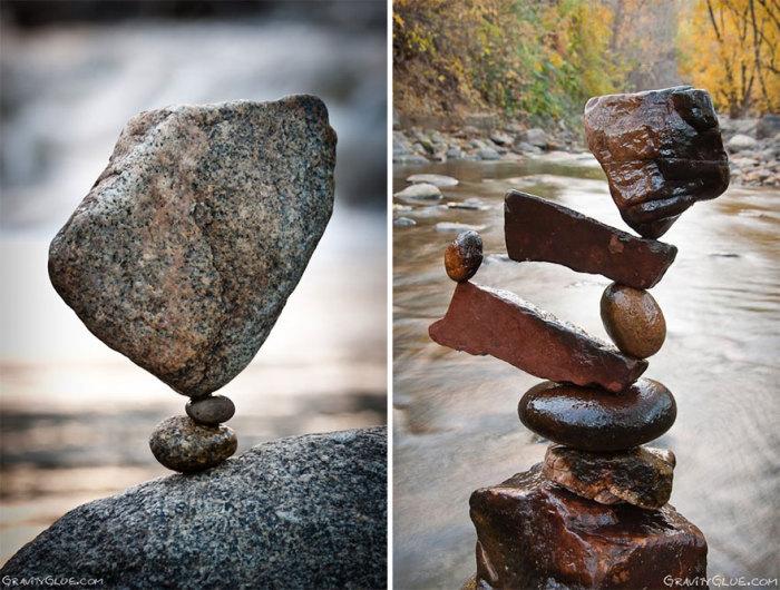 Невероятный пример хрупкого баланса: инсталляции вопреки законам физики