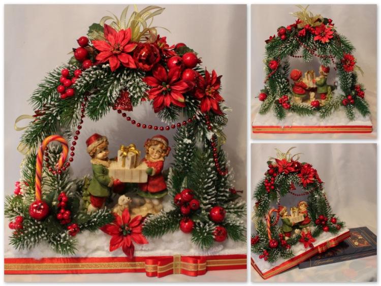 Красивейший новогодний декор! (много не сложных в исполнении идей!)