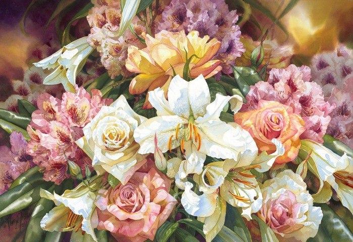 Нежность цветов от Дэррила Тротта (Darryl Trott)