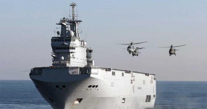 Французский «Мистраль» сорвал военные учения у Гуама в Тихом океане