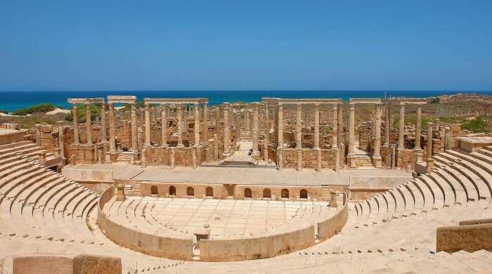 Лептис-Магна, Ливия.  Фото: google.com.