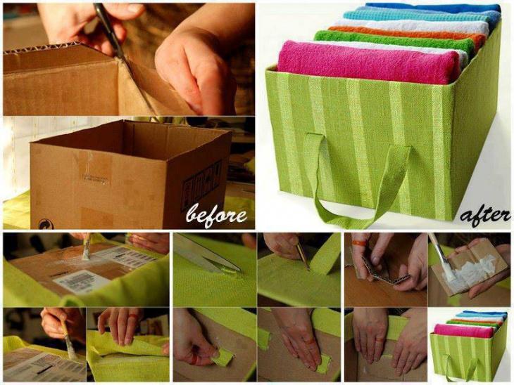 Коробка для одежды (diy)