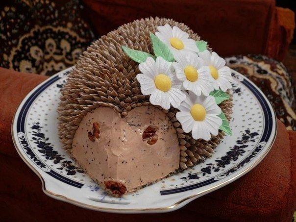 Торт без выпечки «Шоколадный еж». Такую красоту и резать жалко!
