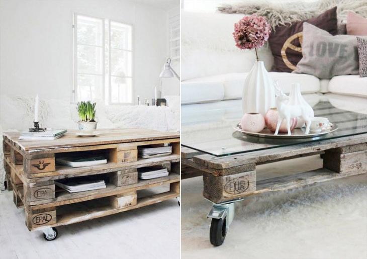 Палетная мебель