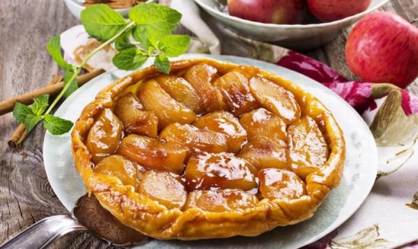 Парижский яблочный пирог: история и рецепт
