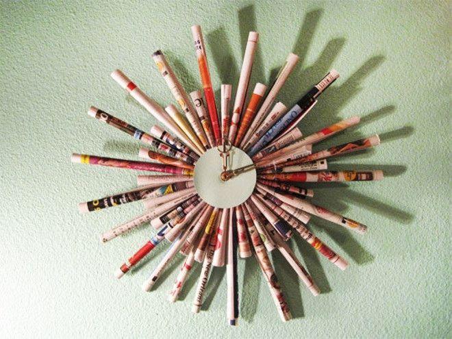 35 креативных вещей из старых газет и журналов
