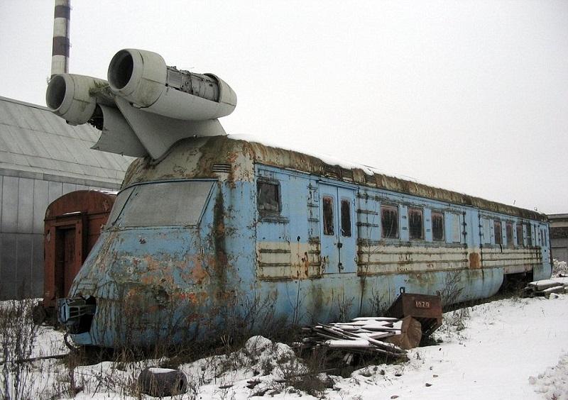 Удивительный вагон-лаборатор…