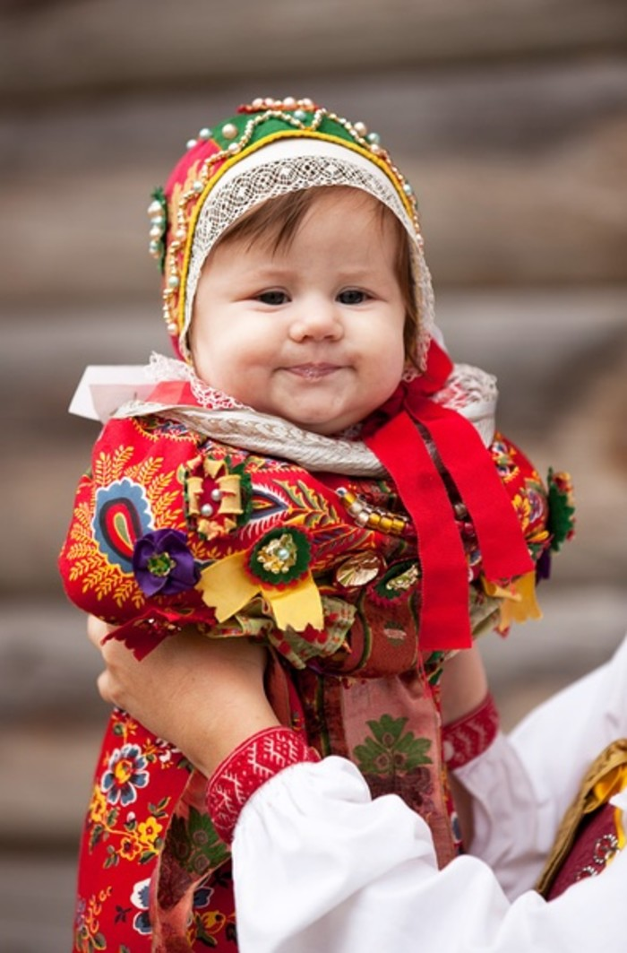 Необычные детские наряды разных стран
