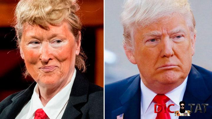 Трамп жестко опозорил Мерил Стрип