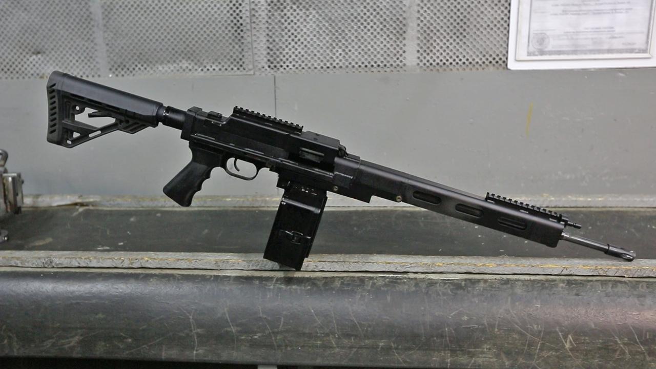 Новый 7,62-мм пулемет завода «Молот-Оружие»