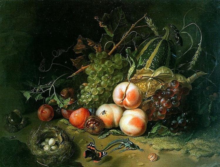 Художник Rachel Ruysch (1664 – 1750). Натюрморты эпохи барокко