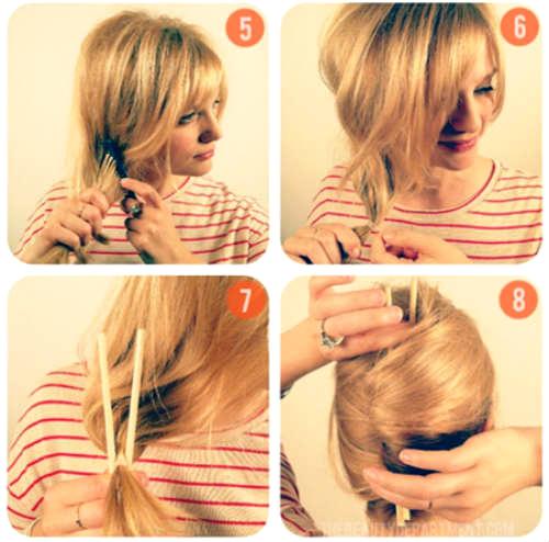 Прическа на короткие волосы своими руками пошаговая инструкция