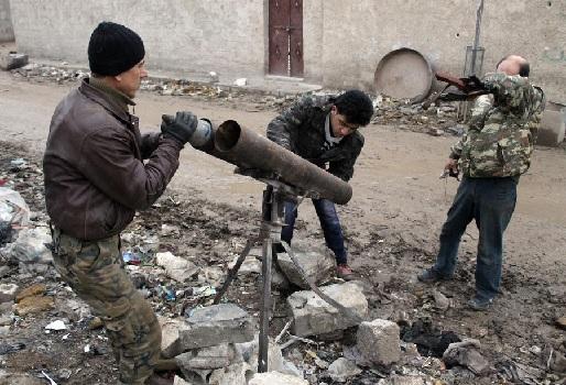От боевиков в Алеппо остались боеприпасы американского производства