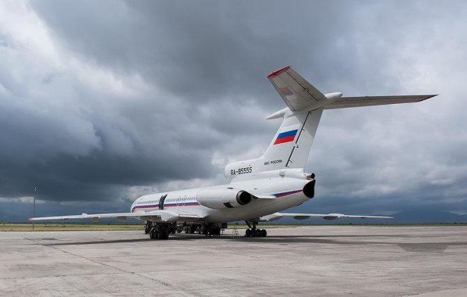 Самолет ВКС РФ пролетел над …
