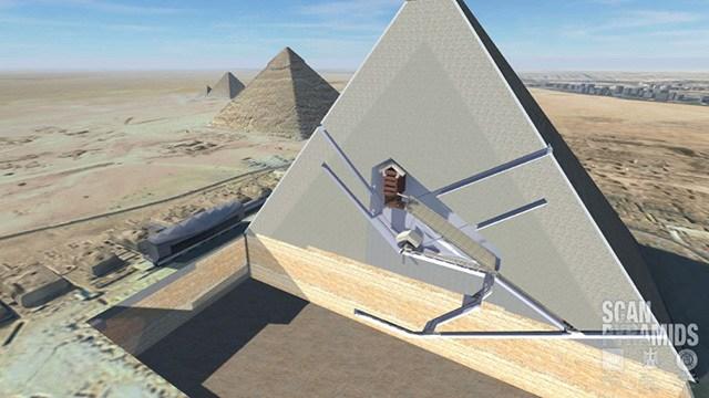 Просканировав пирамиду ХЕОПСА учёные раскрыли тайну века…