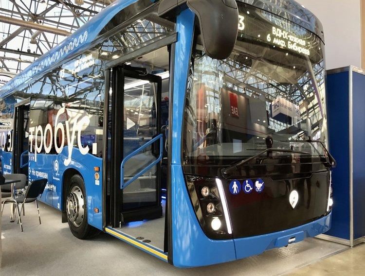 «КамАЗ» показал новый электробус с системой ультрабыстрой зарядки