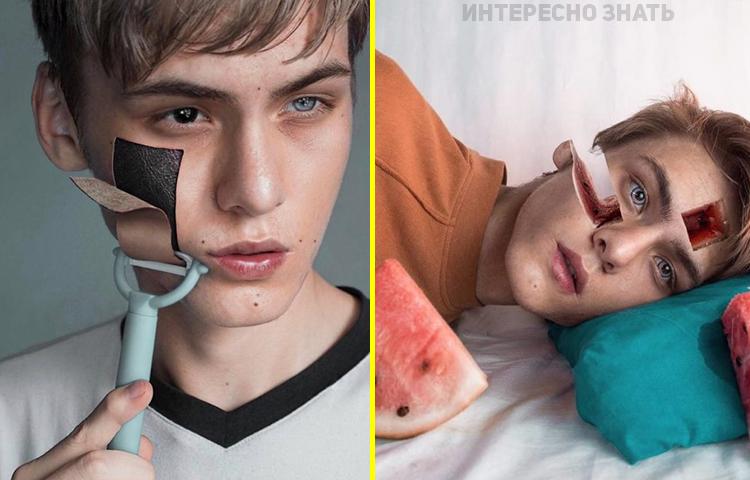 «Темный сюрреализм»: 18-летний парень из России покорил Интернет своими фантастическими работами