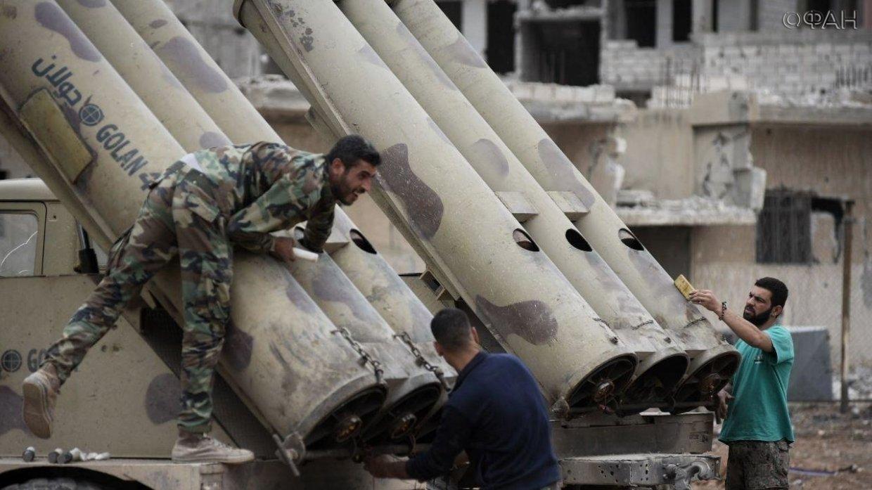 Сирийские военные применяют …