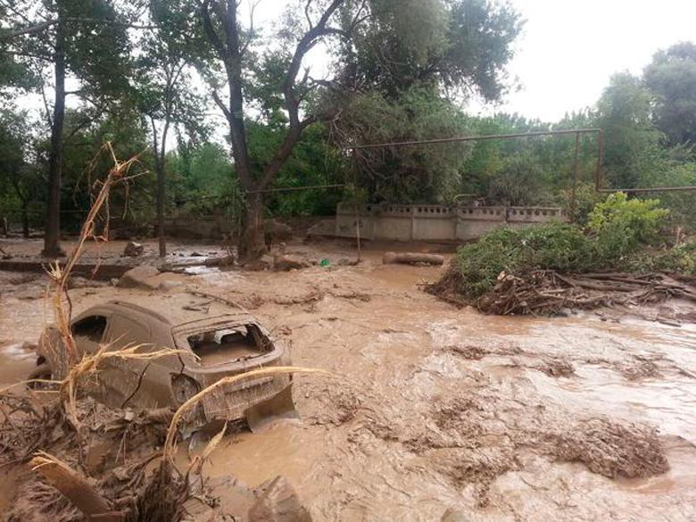 Сход селевого потока привел к ЧП в районе Судака в Крыму